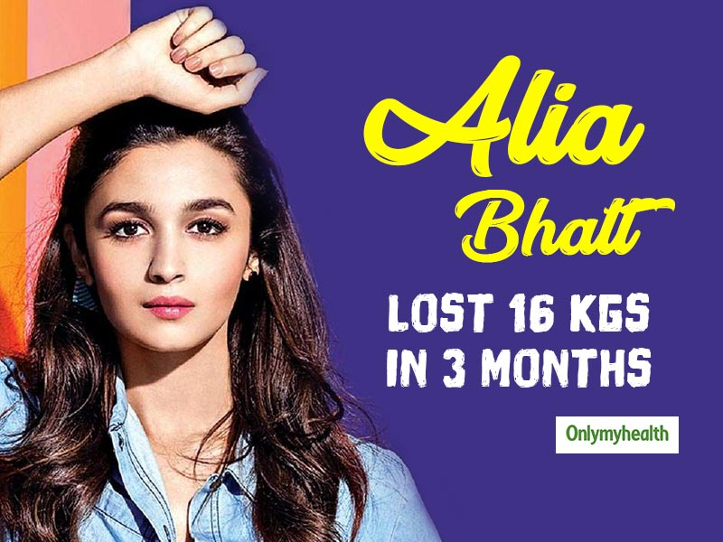 Alia Bhatt's Weight Loss of 16 Kgs in 3 Months: Get Inspired from Her Workout and Diet Regime