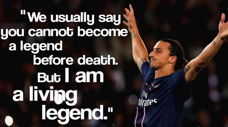 Best Life Changing Quotes From King Zlatan Ibrahimovic