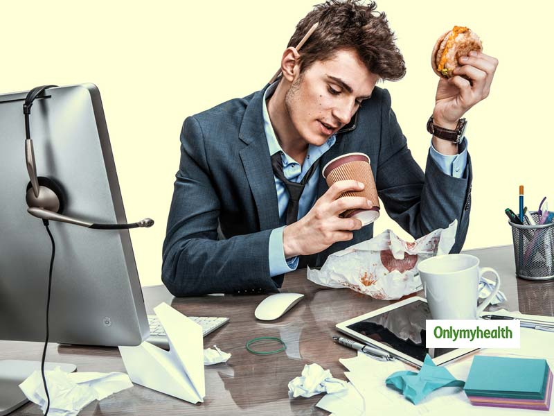 Replace junk food with fast food at the workplace: Study