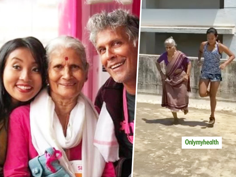 Fitness At The Age Of 81: Here's How Milind Soman's Mom Shows Major Fitness Goals, Diet Can Make A Difference