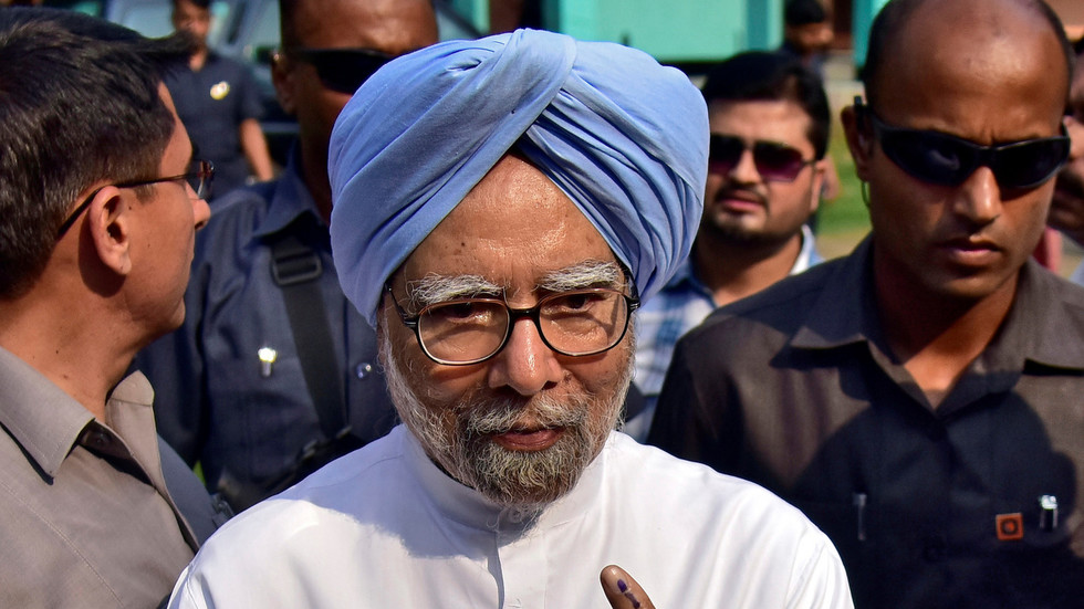 Former India PM Singh in hospital over 'chest pains' – reports