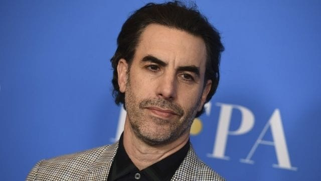 Sacha Baron Cohen discusses Donald Trump's global social media ban, and the perils of 'freedom of speech'